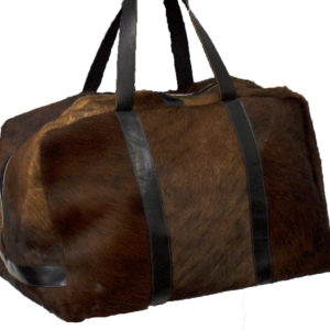 Hair on Duffle Bag